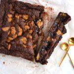 Brookie - brownie med cookiedough