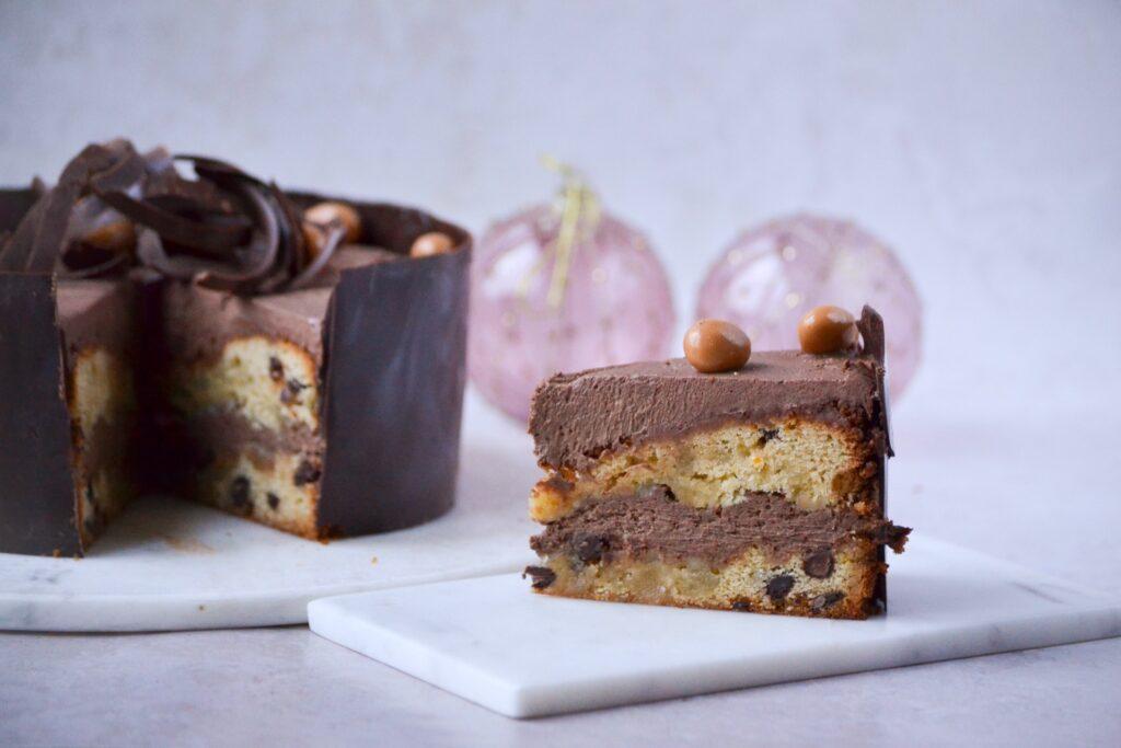 Mazarinkage med chokolademousse