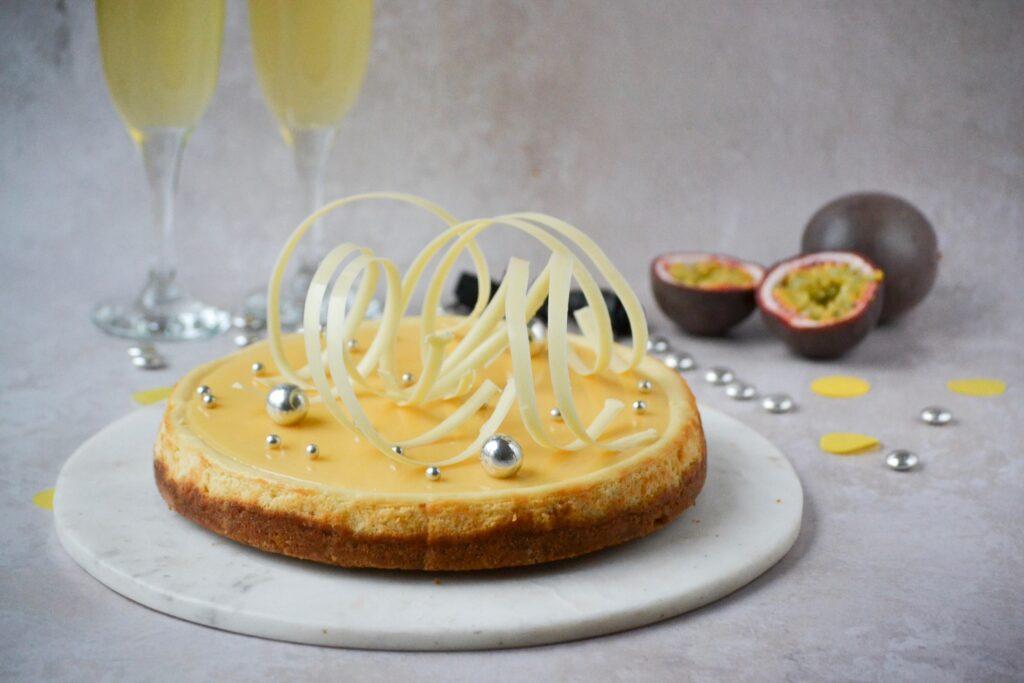 Nytårskage cheesecake