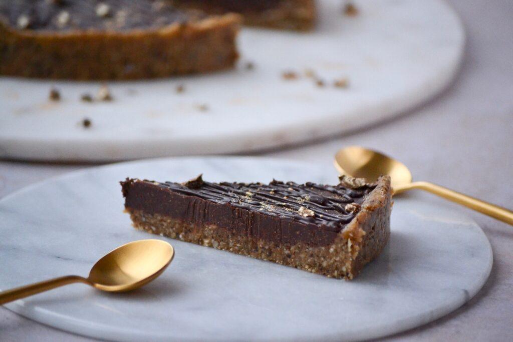 Nutella tærte uden sukker