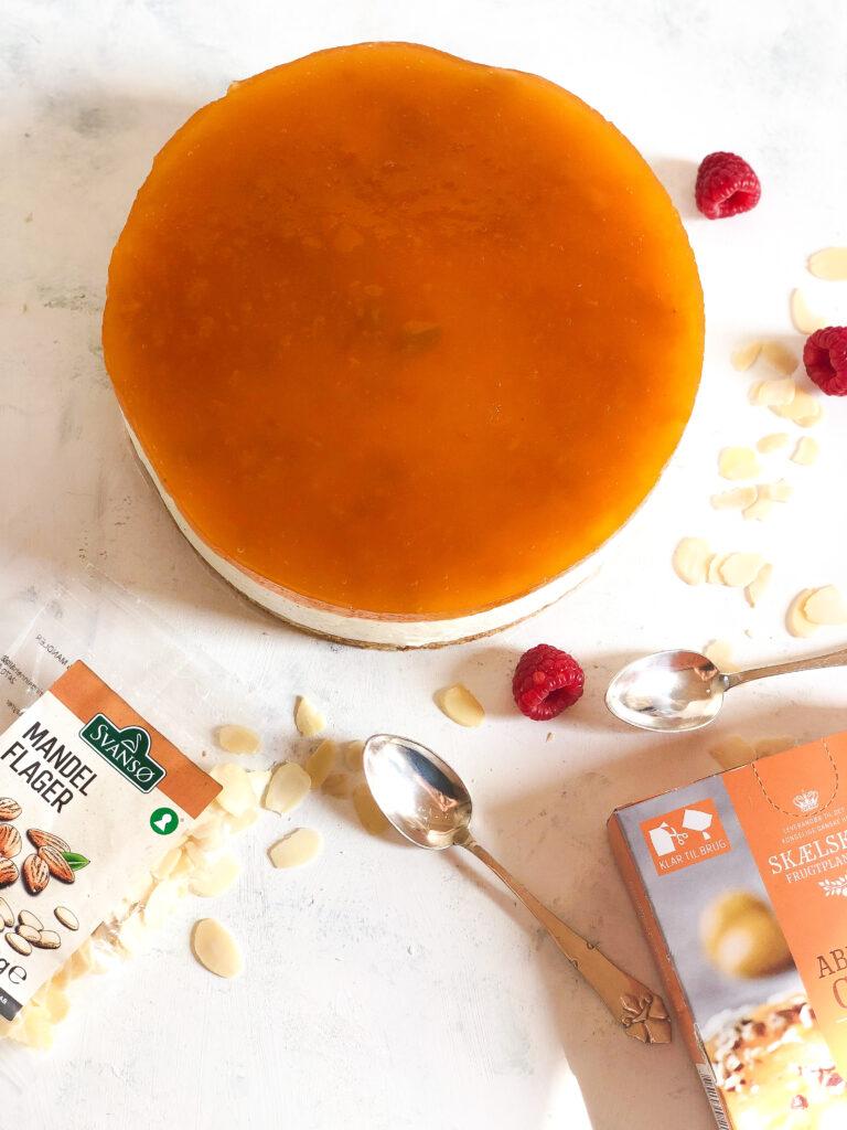 cheesecake med abrikos