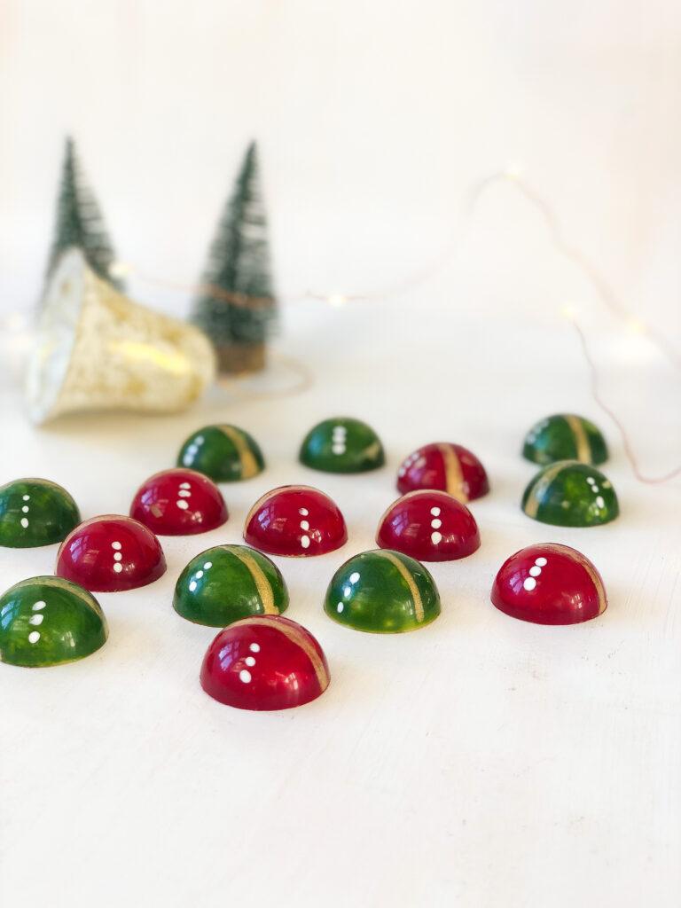 julemænds chokolader